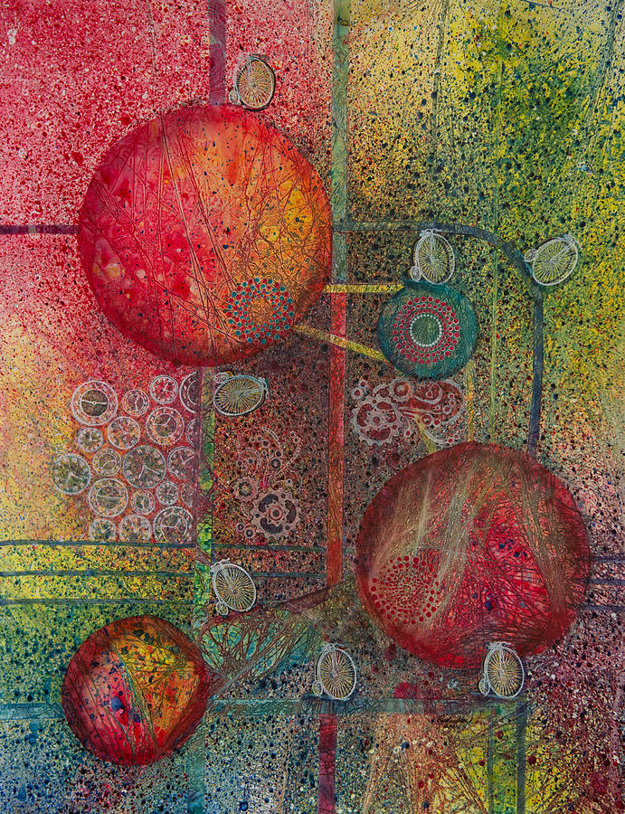 Science Painting - The Time Machine by David Raderstorf