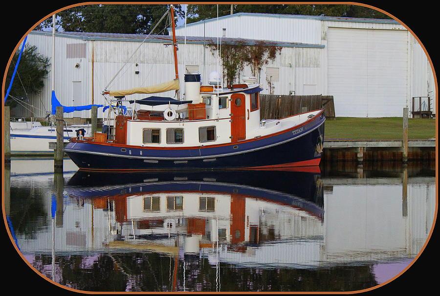 Boat Photograph - The Titan by Carolyn Ricks