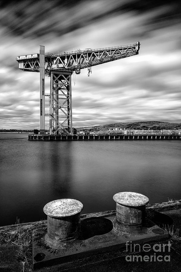 Shipyards Photograph - The Titan by John Farnan