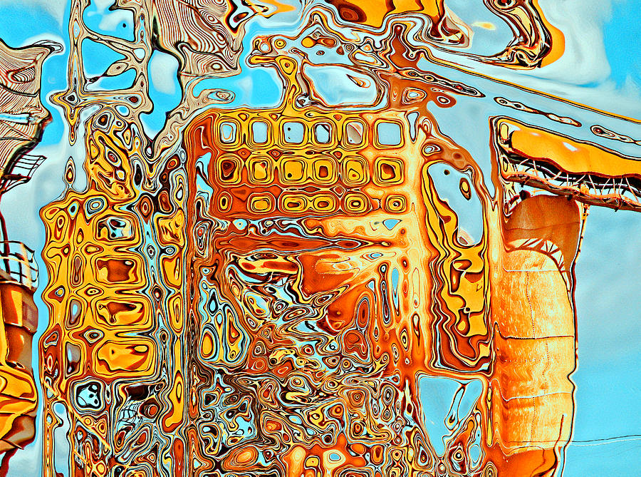 Abstract Digital Art - The To Do List by Wendy J St Christopher