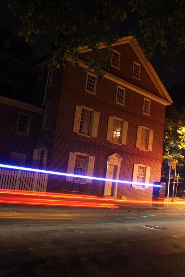 Philadelphia Photograph - The Todd House Philadelphia by Christopher Woods