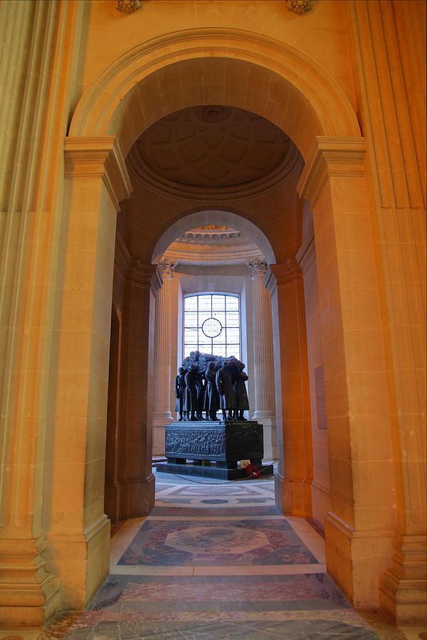Paris Photograph - The Tombs At Les Invalides - Paris France - 011315 by DC Photographer