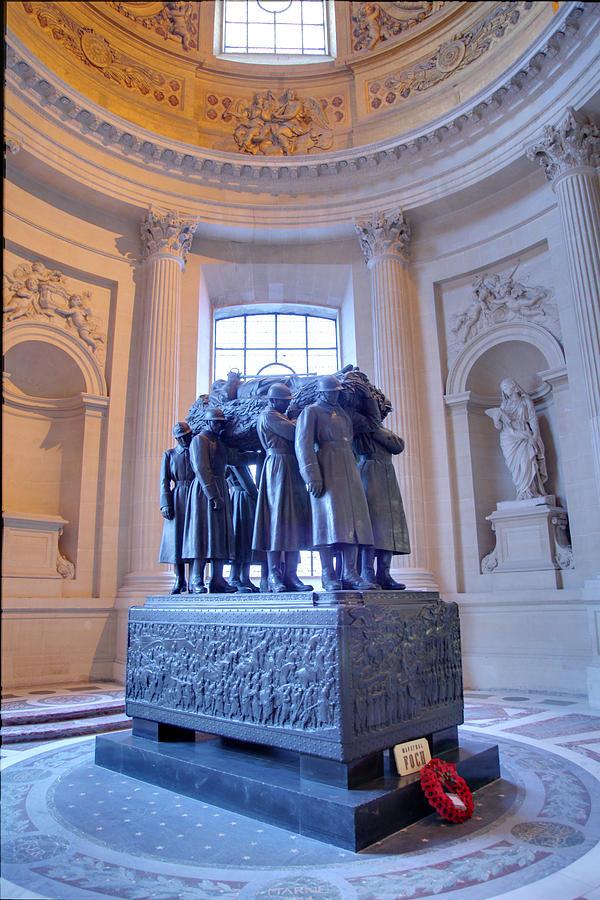 Paris Photograph - The Tombs At Les Invalides - Paris France - 011316 by DC Photographer