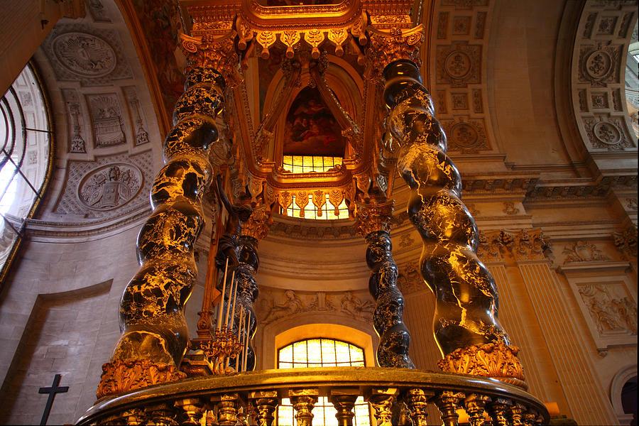 Paris Photograph - The Tombs At Les Invalides - Paris France - 011323 by DC Photographer