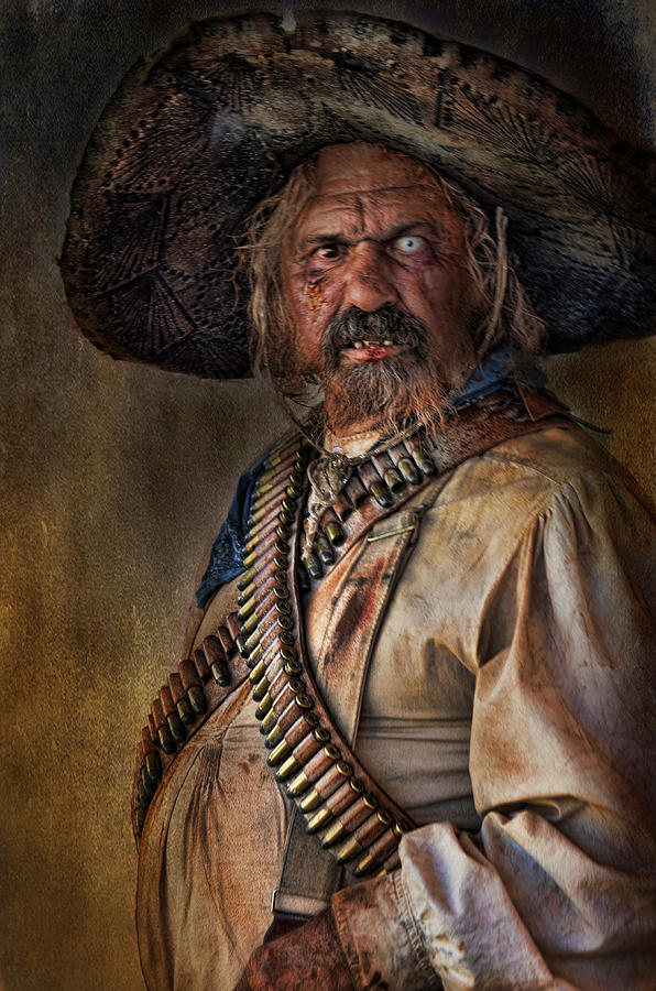 The Tombstone Bandito Photograph by Barbara Manis