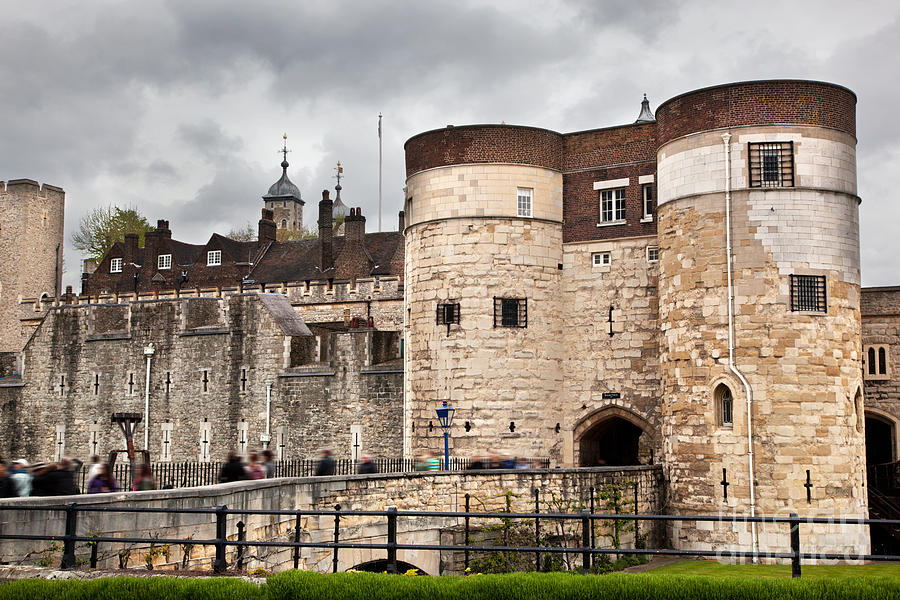 London Photograph - The Tower Of London Uk The Historic Royal Palace And Fortress by Michal Bednarek