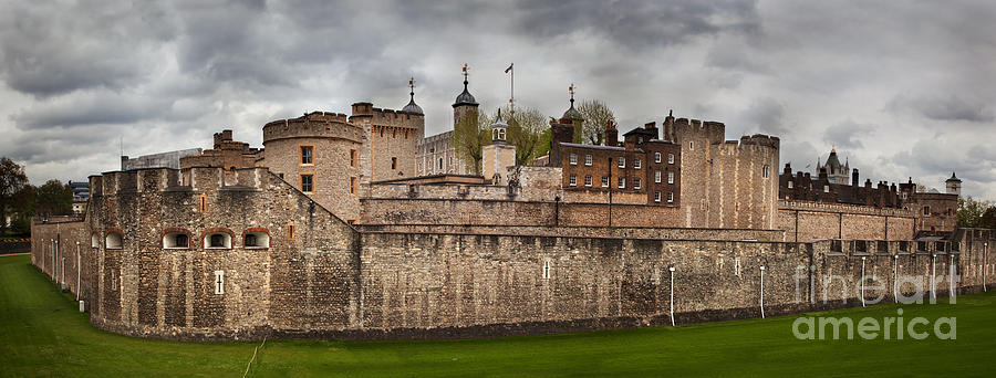 London Photograph - The Tower Of London Uk The Historic Royal Palace by Michal Bednarek