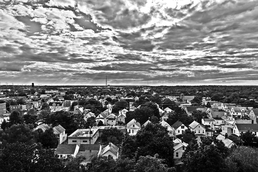 Hdr Photograph - The Town by Gaurav Singh