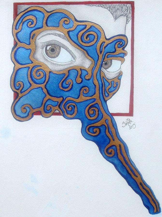 The Traitor I Know Him To Be Painting by Benita Solomon