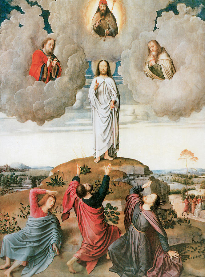 The Transfiguration Painting by Gerard David