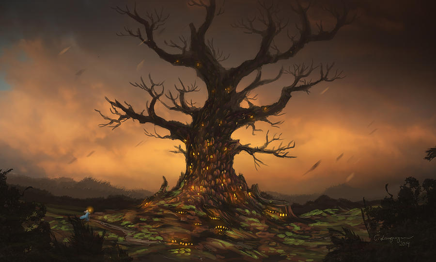 The Tree by Cassiopeia Art