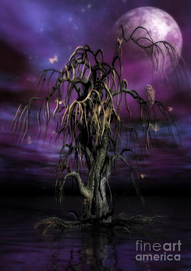 Tree Of Souls Painting - The Tree Of Sawols by John Edwards