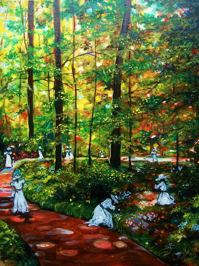 Landscape Painting - The Trials by Emery Franklin