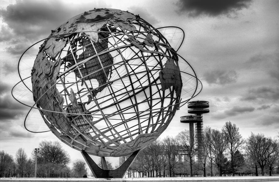 The Unisphere Photograph - The Unisphere by JC Findley