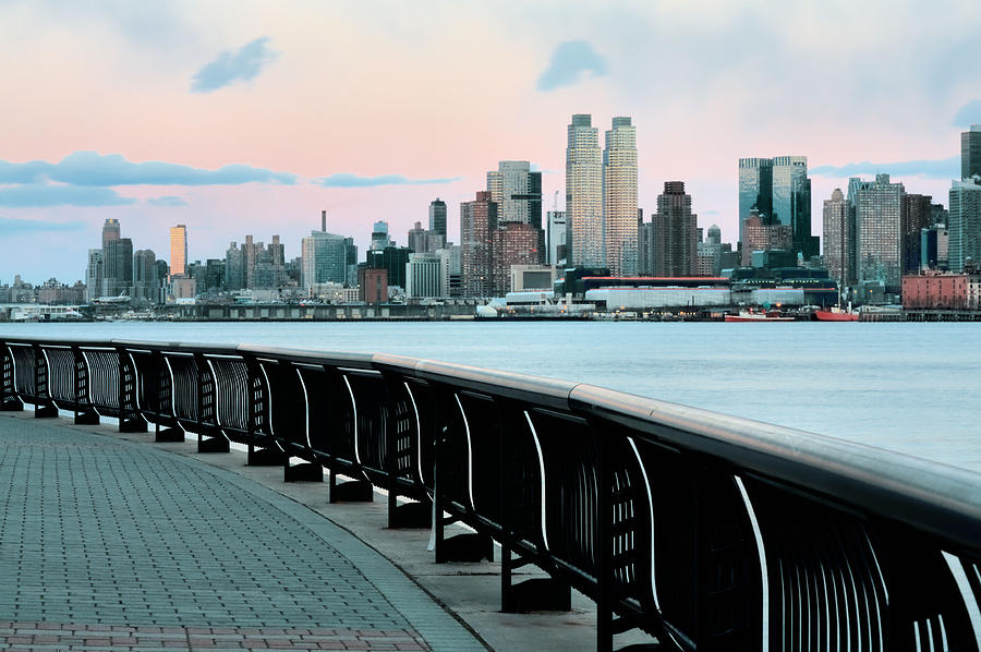 Hoboken Photograph - The Upper West Side by JC Findley