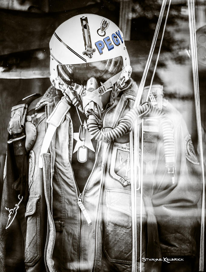 Covid19 Photograph - The U.S airman by Stwayne Keubrick