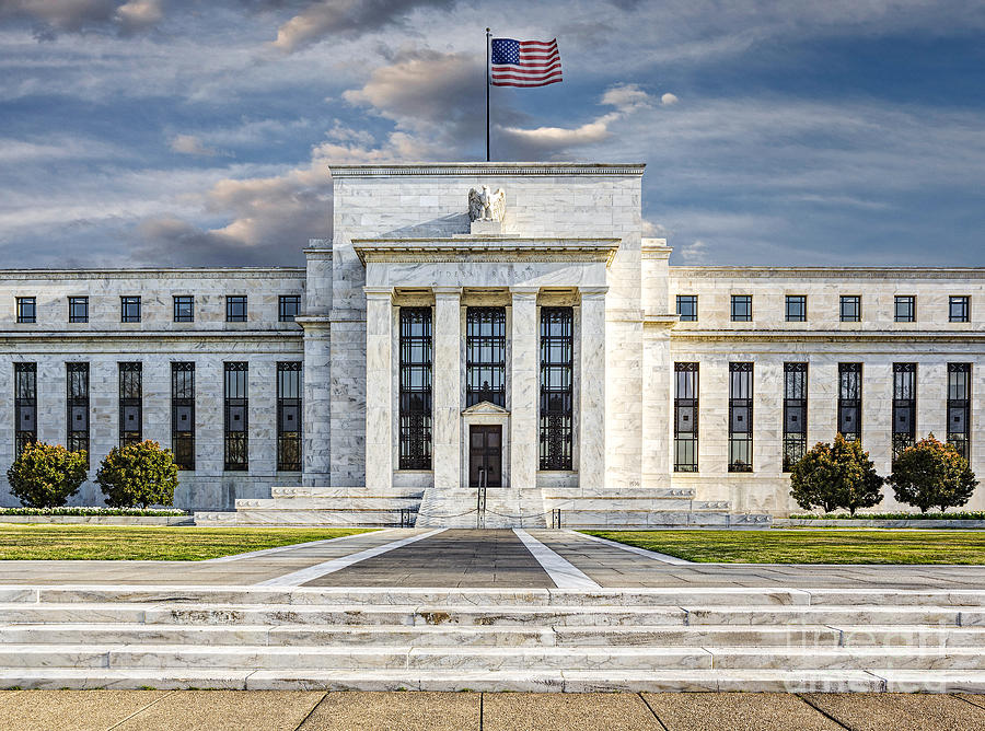 Federal Reserve Photograph - The Us Federal Reserve Board Building by Susan Candelario