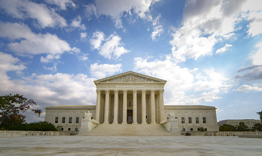 The US Supreme Court Photograph by Photo by Mike Kline (notkalvin)