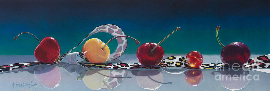 Still Life Painting - The Usual Suspects by Arlene Steinberg