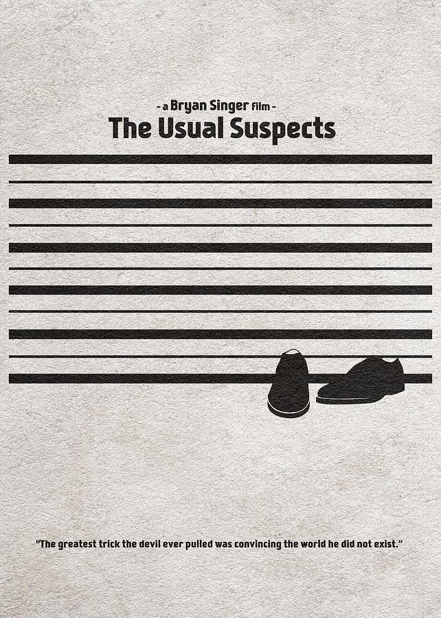 The Usual Suspects Digital Art - The Usual Suspects by Inspirowl Design