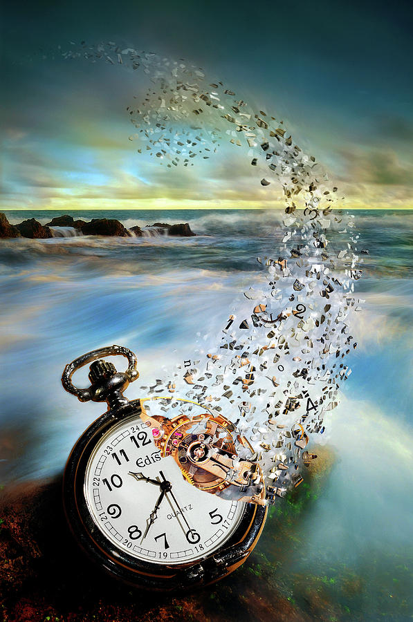 Time Photograph - The Vanishing Time by Sandy Wijaya