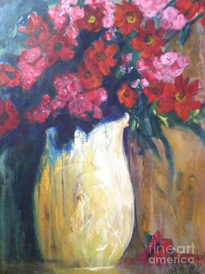 Orchards Painting - The Vase by Sherry Harradence