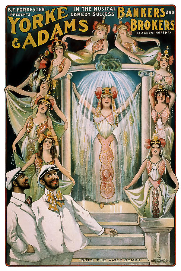 Vintage Poster Mixed Media - The Vater Oomph by Terry Reynoldson