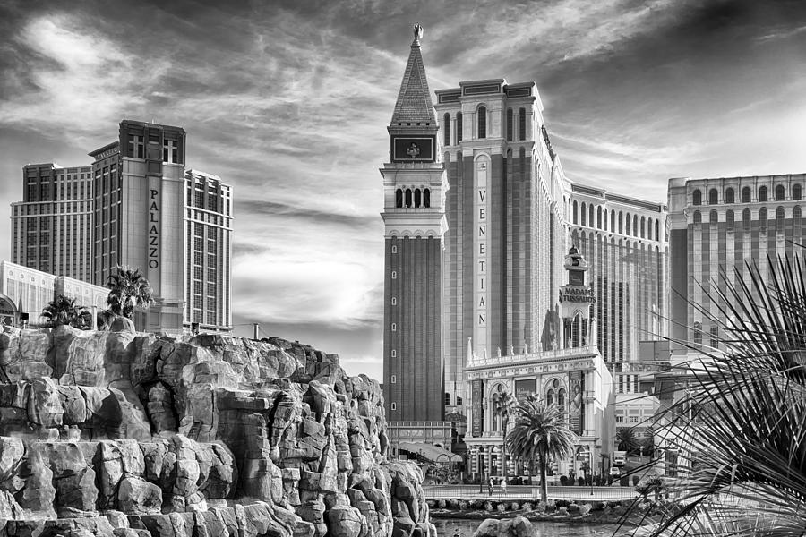 Nature Photograph - The Venetian Resort Hotel Casino by Howard Salmon