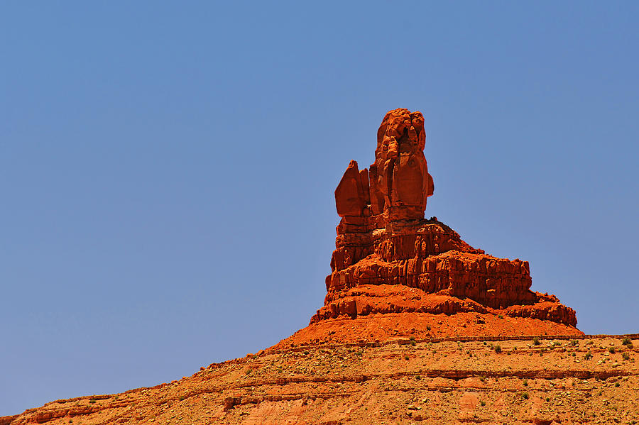 Valley Photograph - The Vibe Of Valley Of The Gods Utah by Christine Till