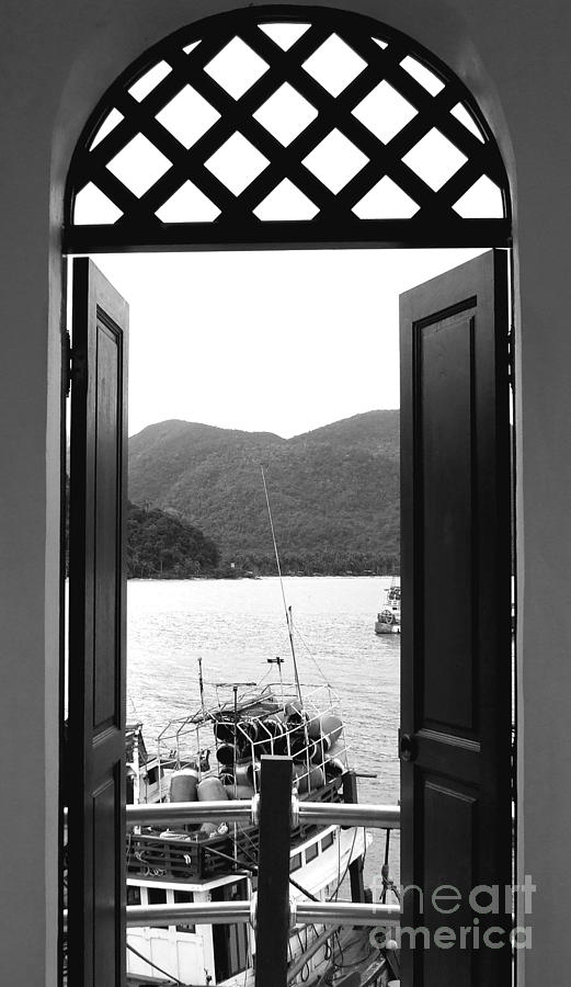 Door Photograph - The View by Andrea Anderegg