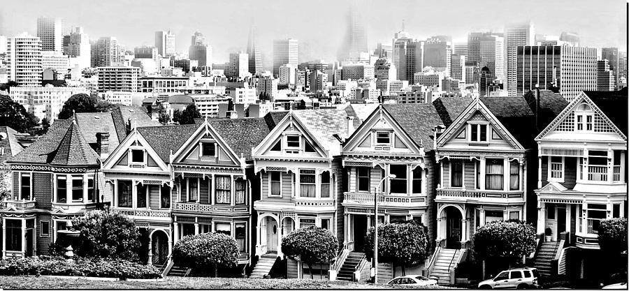 San Francisco Photograph - The View by Cher Ferroggiaro