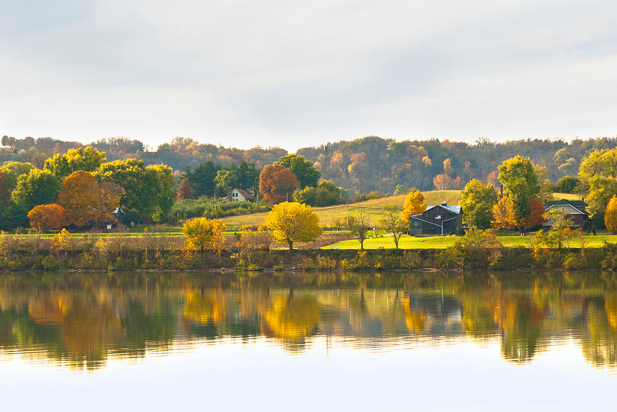 Fall Photograph - The View From Rabbit Hash by Jeanne Sheridan