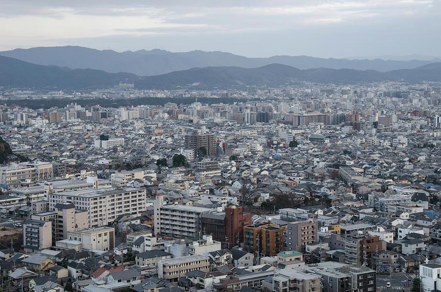 The View Of Kyoto City Photograph by Kaoru Hayashi