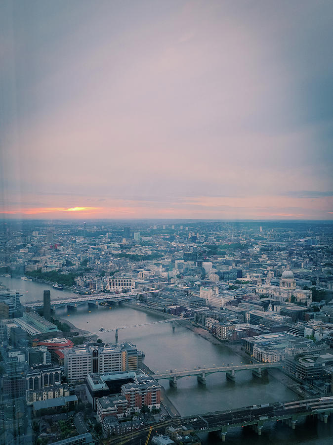 The View Of London Photograph by Camille Blais