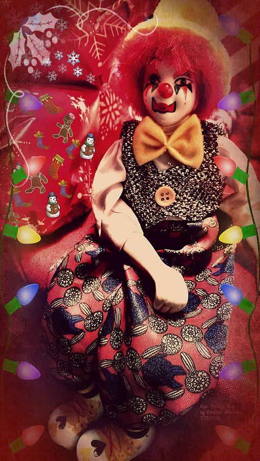 Clowns Photograph - The Vintage Toy by Denisse Del Mar Guevara