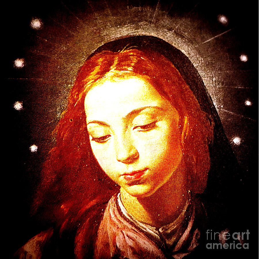 Mary Photograph - The Virgin Of The Immaculate Conception by Patricia Januszkiewicz