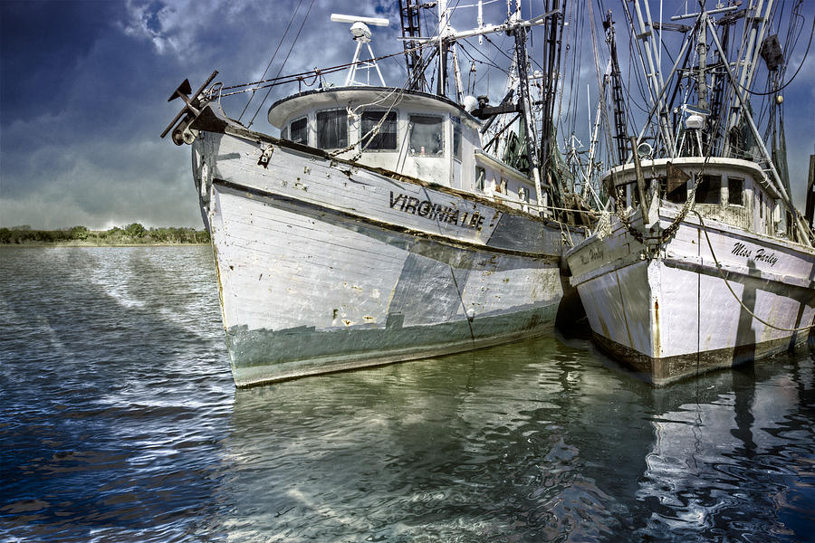Boats Photograph - The Virginia Lee And The Miss Harley by Debra and Dave Vanderlaan