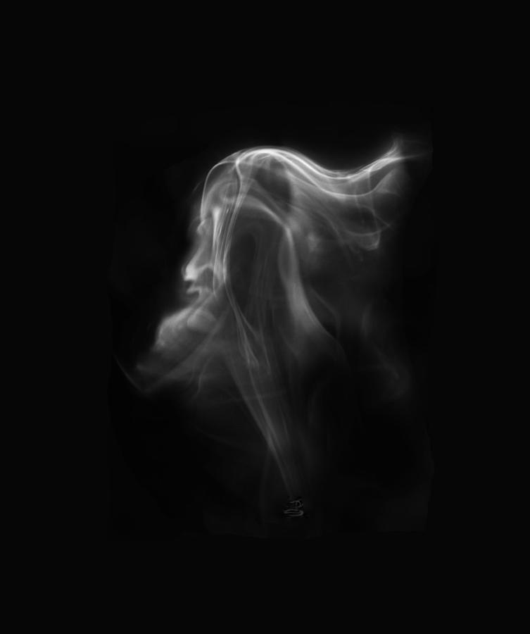 Fire Photograph - The Vision by Steven Poulton