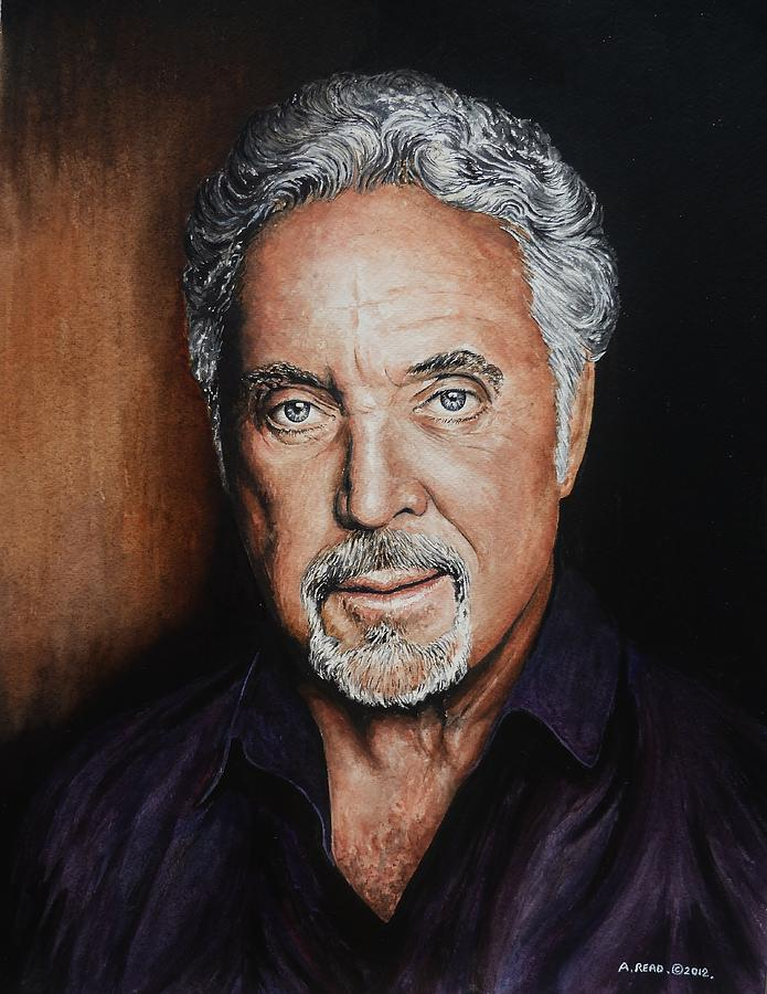 Tom Jones Painting - The Voice by Andrew Read