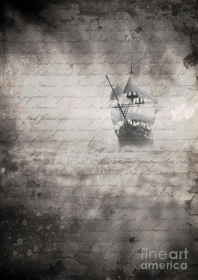 Mist Photograph - The Voyage by Edward Fielding