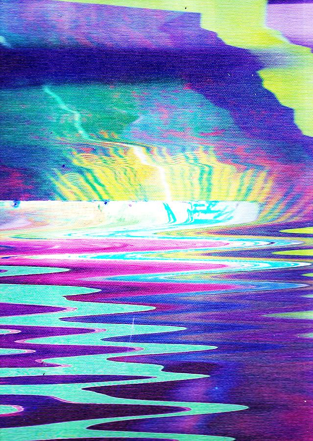Impressionism Painting - The Wake At The Cave by Anne-Elizabeth Whiteway
