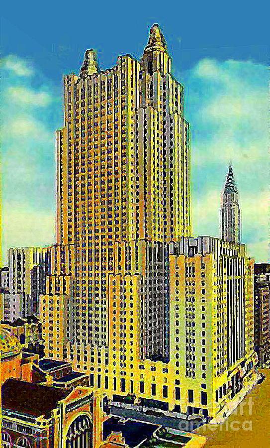 Waldorf Astoria Hotel Painting - The Waldorf Astoria Hotel by Dwight Goss