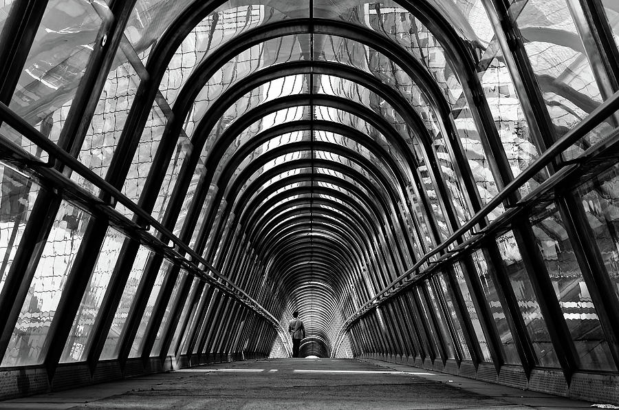 Architecture Photograph - The Walker by