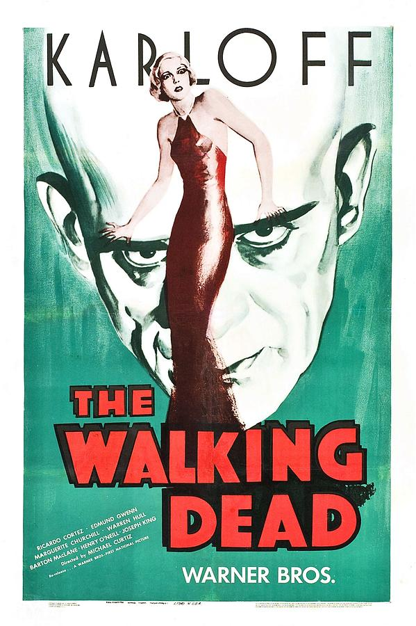 Movie Photograph - The Walking Dead Poster by Gianfranco Weiss