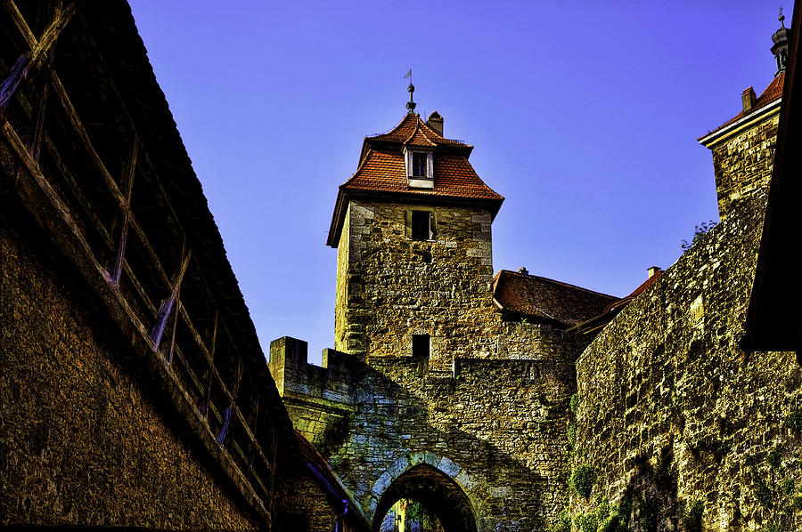 Rothenburg Photograph - The Wall  by Joanna Madloch