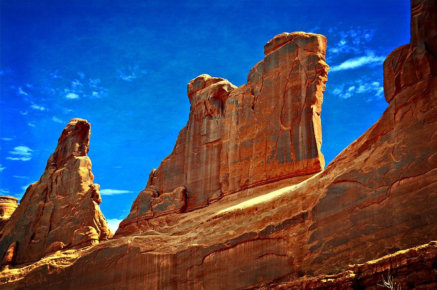 Arches National Park Photograph - The Wall by Marty Koch