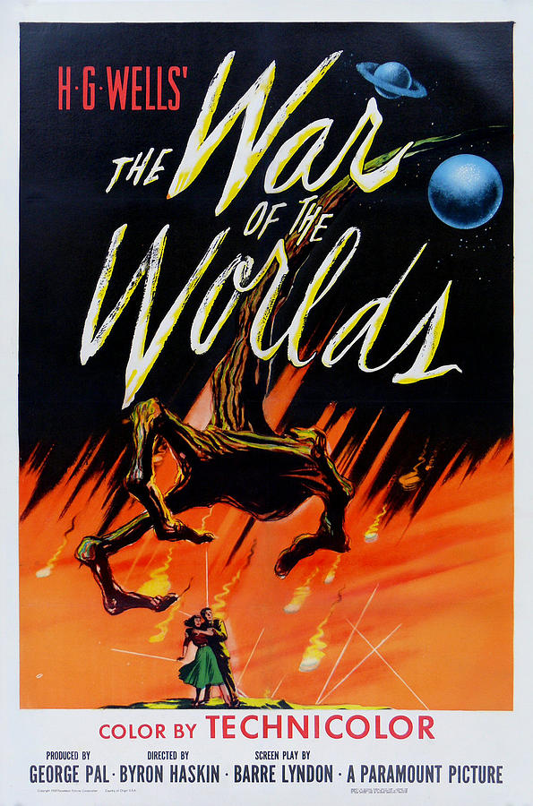 The War Of The Worlds Digital Art - The War Of The Worlds by Georgia Fowler