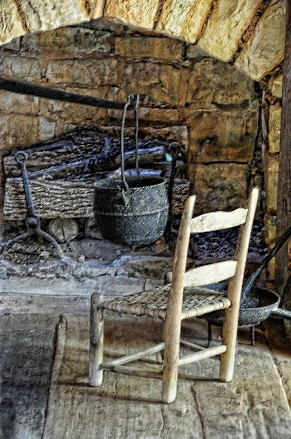 Still Life Photograph - The Warming Place by Jan Amiss Photography