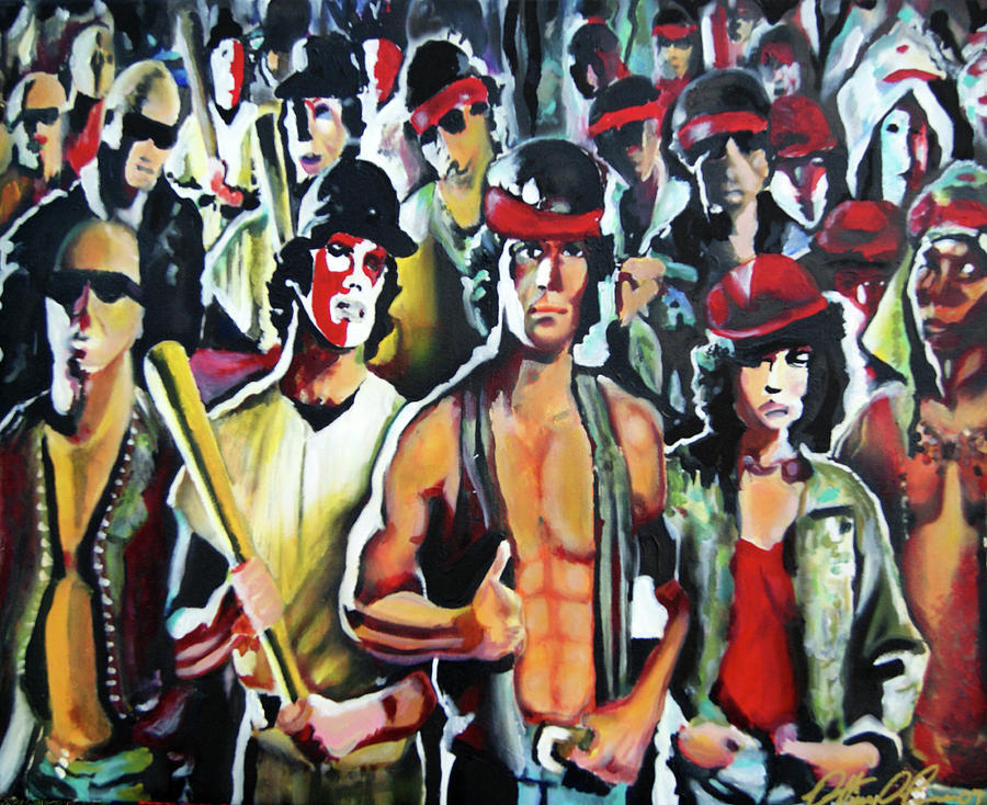 Warriors Painting - The Warriors by Ottoniel Lima