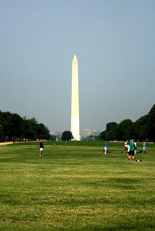 The Washington Monument Photograph by Jeanette Rode Dybdahl
